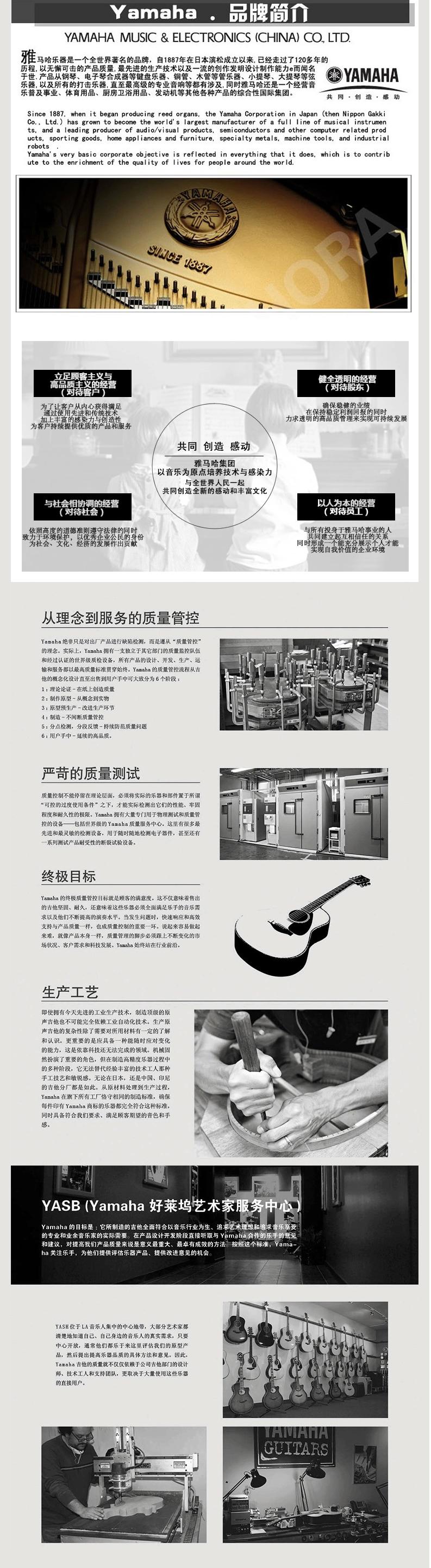 青岛雅马哈电吉他PAC012