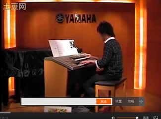 【视频】日本薮雅贵双排键电子琴表演