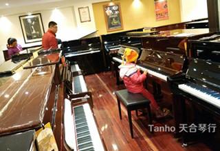 天合珠江钢琴R2,青岛延吉路顾客心满意足