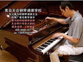 雅马哈技师低音双弦八度精调视频