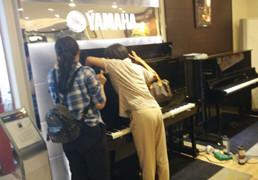 阅兵日挡不住的诱惑,雅马哈钢琴YC131EX