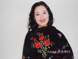 青岛大学声乐教授选择天合雅马哈三角钢琴