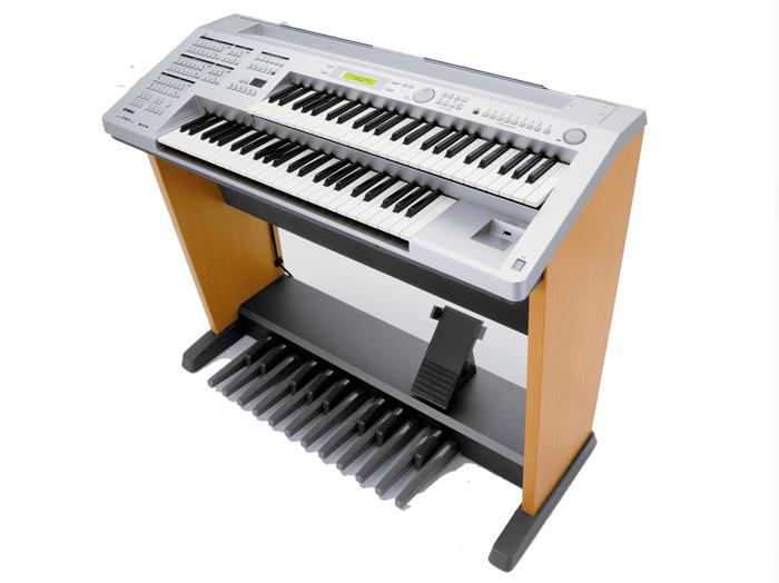 雅马哈ELB-01双排键电子琴
