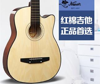 红棉民谣吉他38寸40寸41寸